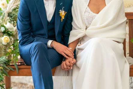 Mariage pluvieux, mariage heureux, la preuve !