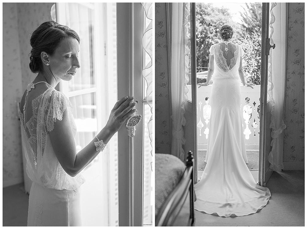 mariée balcon