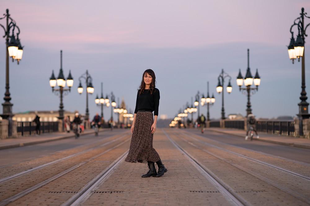 photographie pont de pierre bordeaux