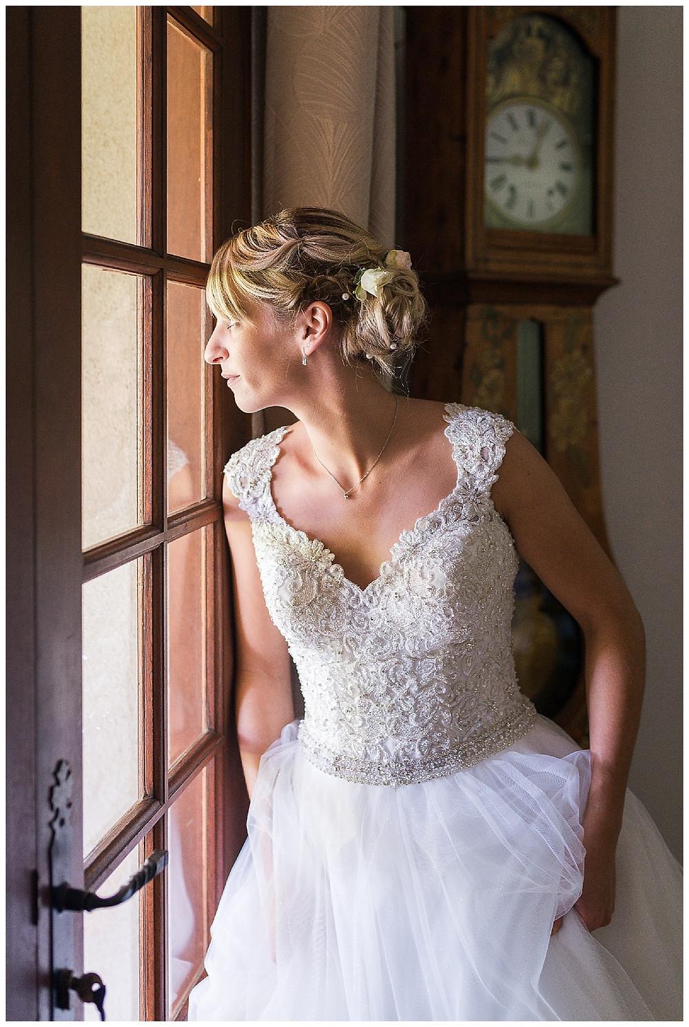 mariée attend
