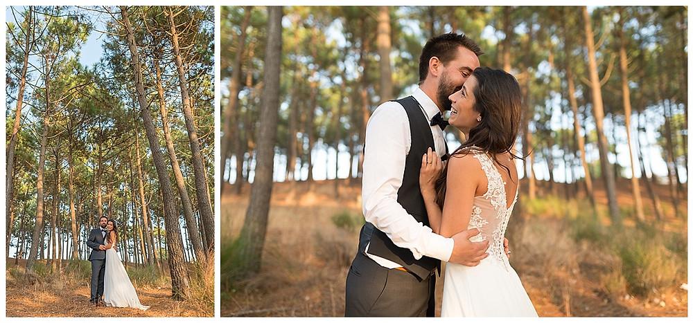 mariés forêt