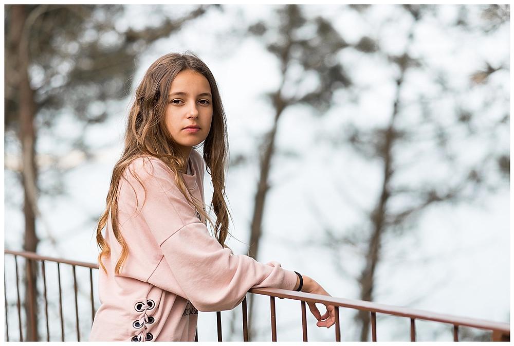 portrait adolescente