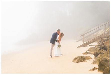 Cérémonie Laïque en toute intimité sur une plage du Cap Ferret