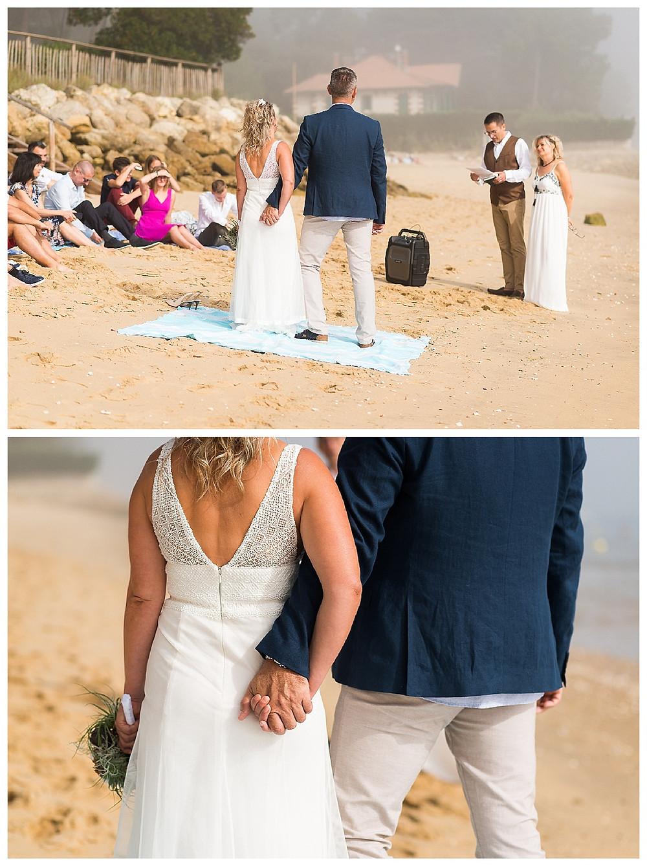 mariage plage cap ferret