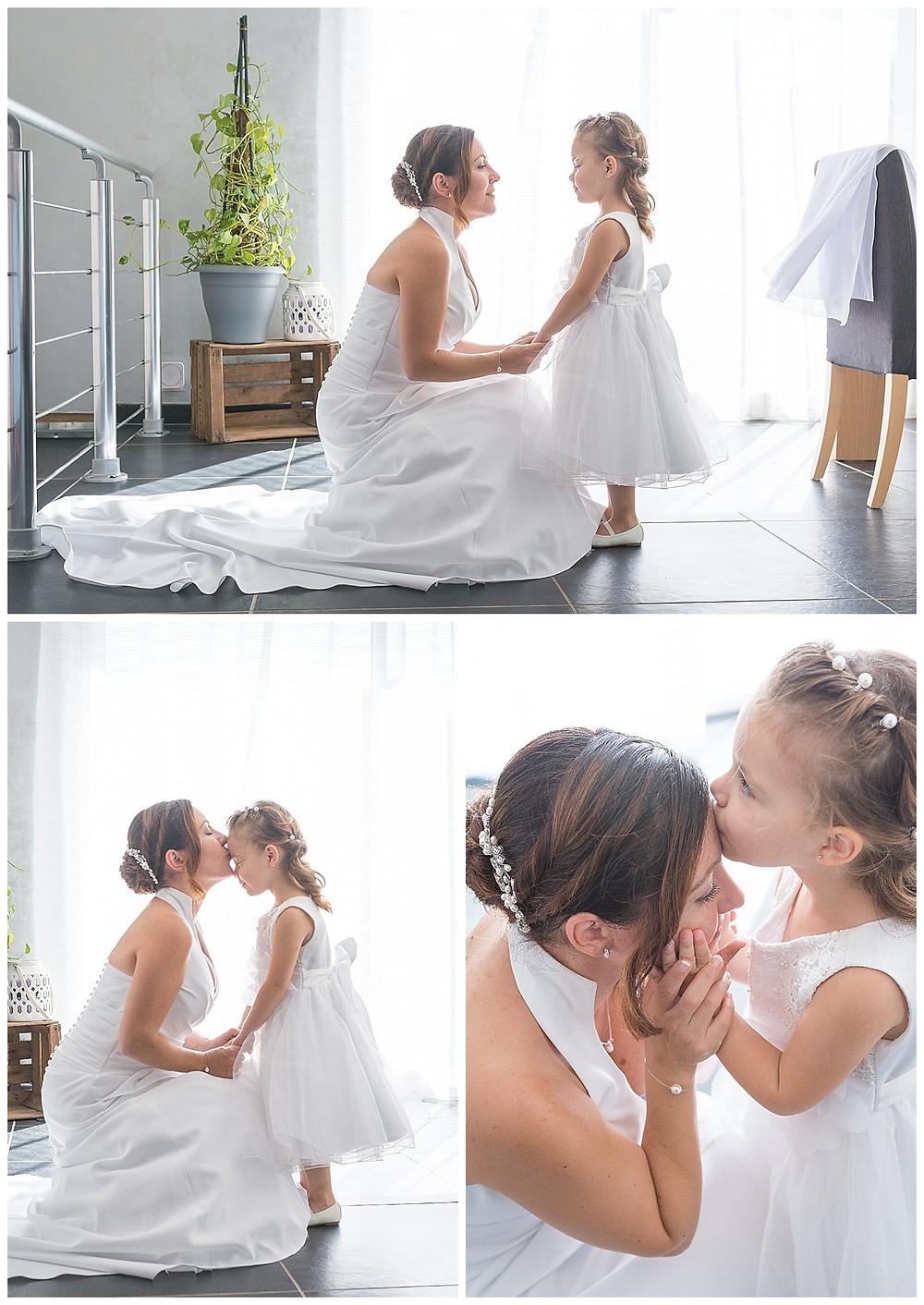 tendresse maman enfant