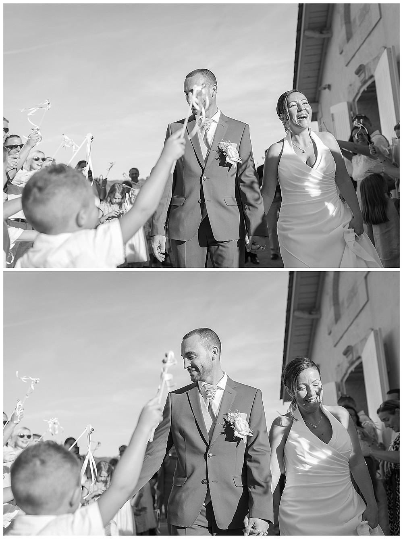 féliciter les mariés