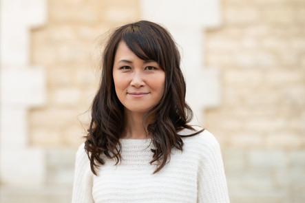 Portrait d'une jolie japonaise-bordelaise