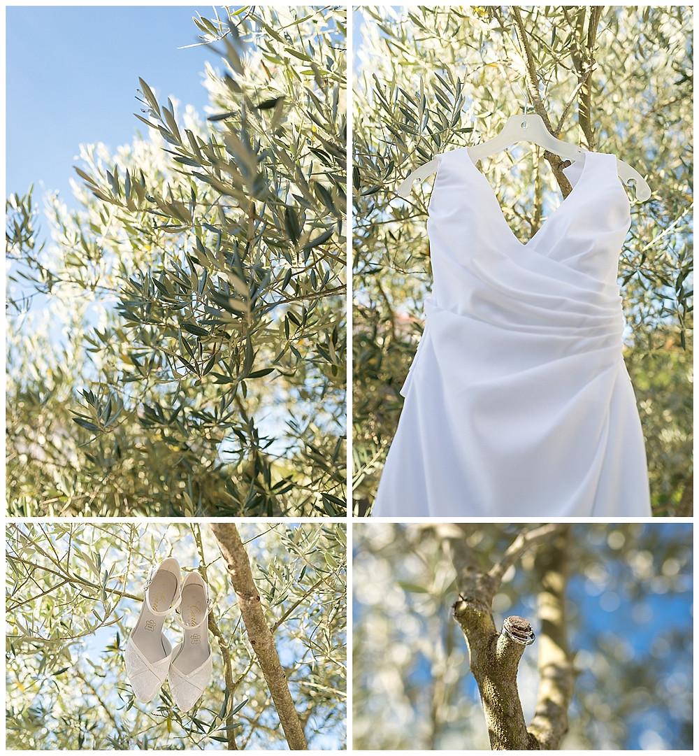 robe mariée chaussures alliances olivier