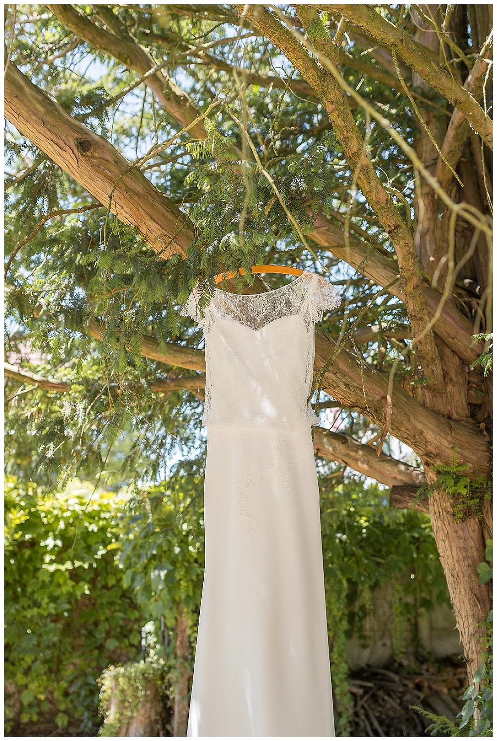 robe mariée arbre
