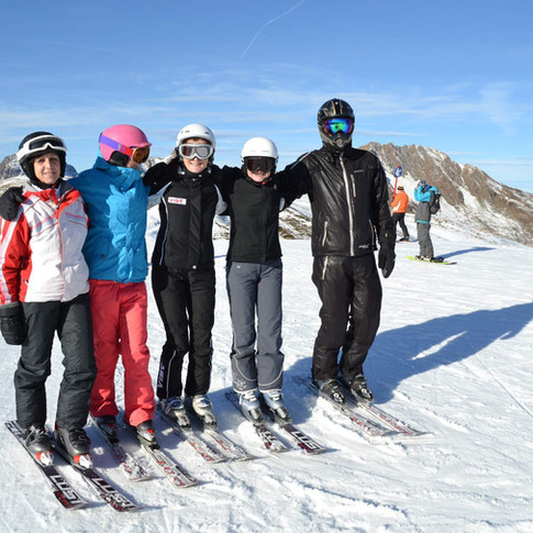 Instruktor lyžování