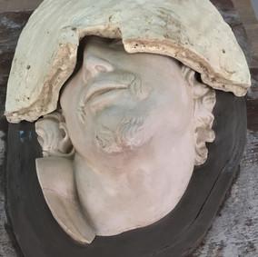 Silcone  mold in progress