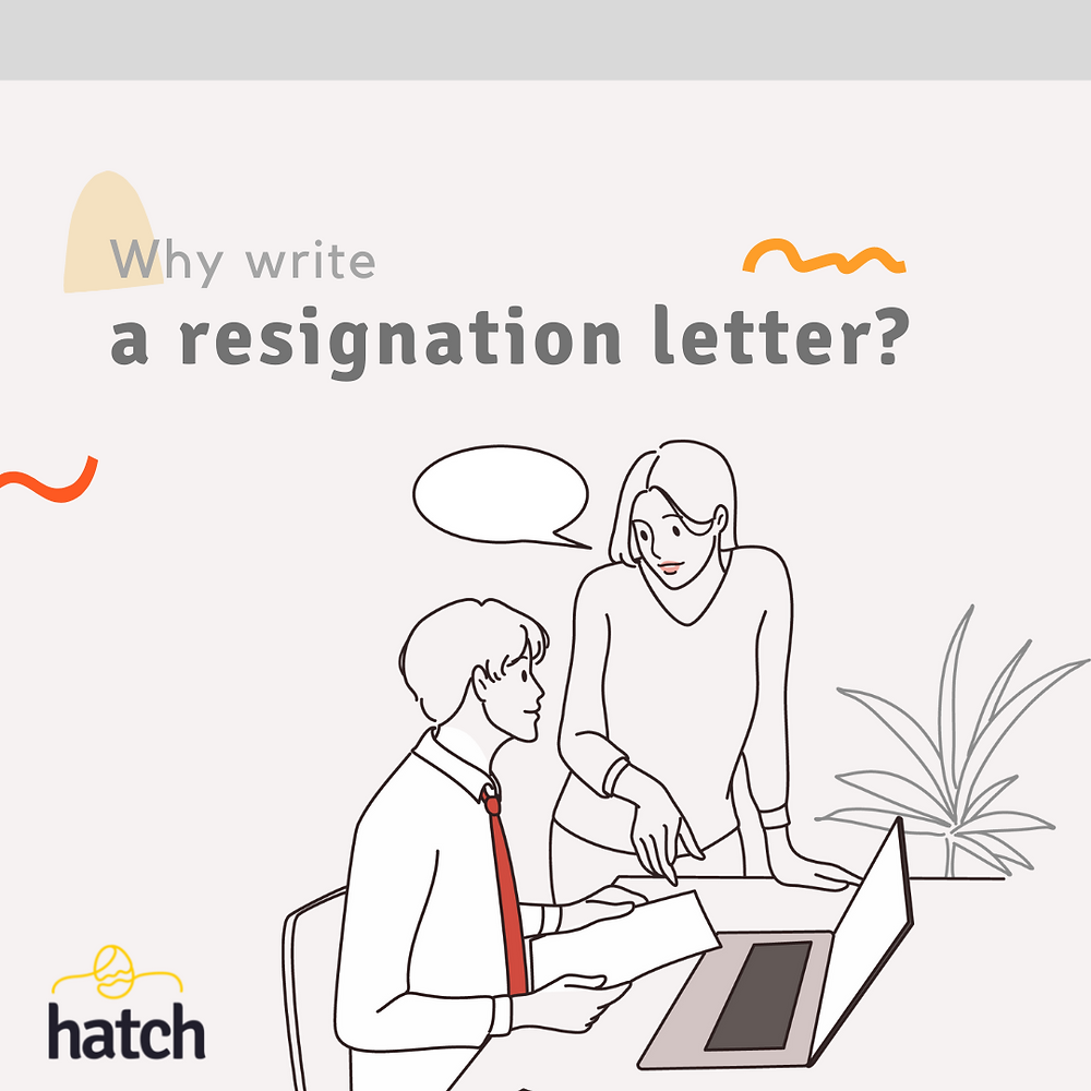 Lady providing her resignation letter to employer