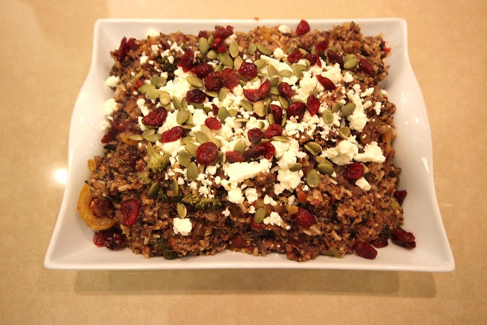 Quinoa & Wild Rice Pilaf
