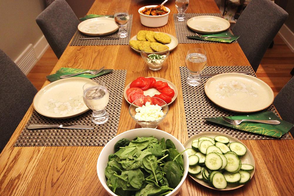 Dinner Table Spread