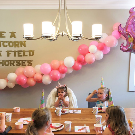 Everly's 2nd Birthday Unicorn Brunch