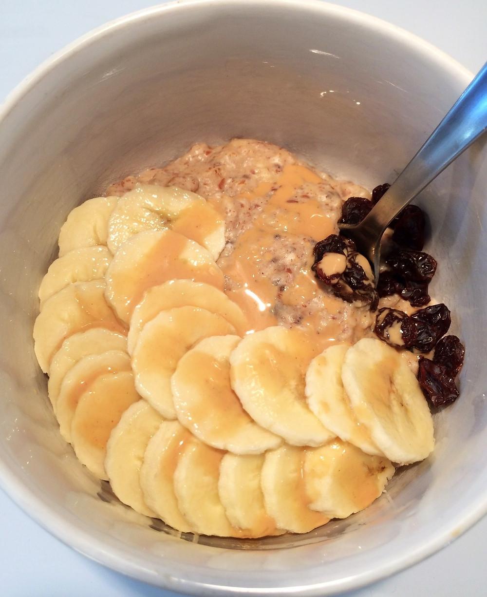 Peanut Butter & Banana Oatmeal