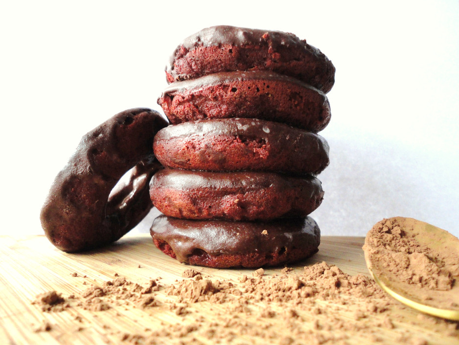 Grain-Free Double Chocolate Donuts!