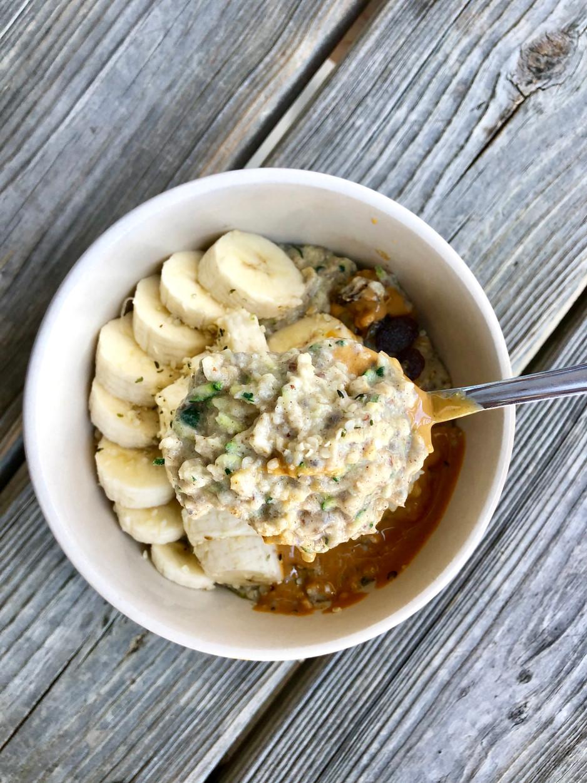 Banana Zucchini Collagen Oats