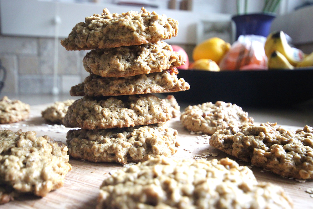 Oatmeal PB & Date Cookies