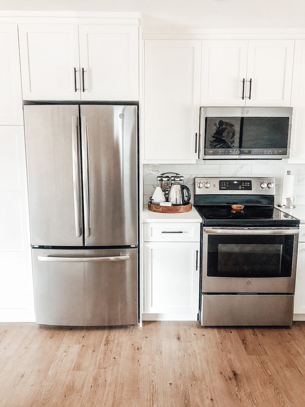 GE Appliances, stainless steel appliances