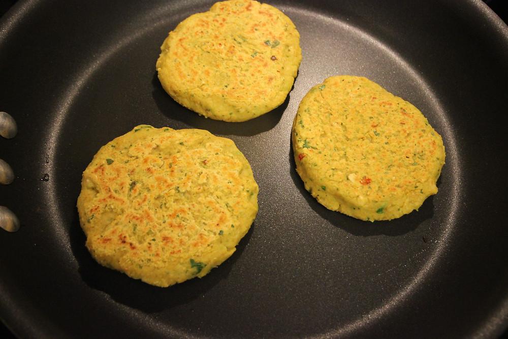 Baking Falafel