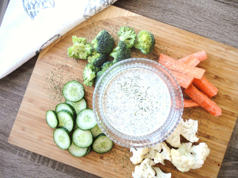 Healthy Tangy Dill Dip
