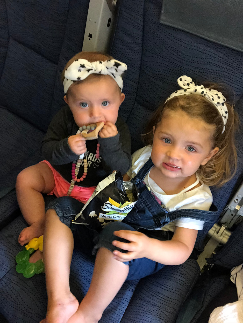 Tips for Flying with a Toddler and a Baby