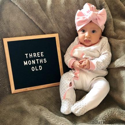 Rosie's 3-Month Update