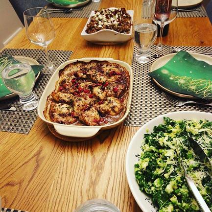 Parents & Parfaits | Dinner Menu