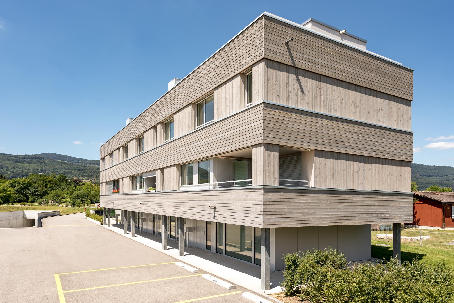 Architekturfotografie Sägereiareal Kappel