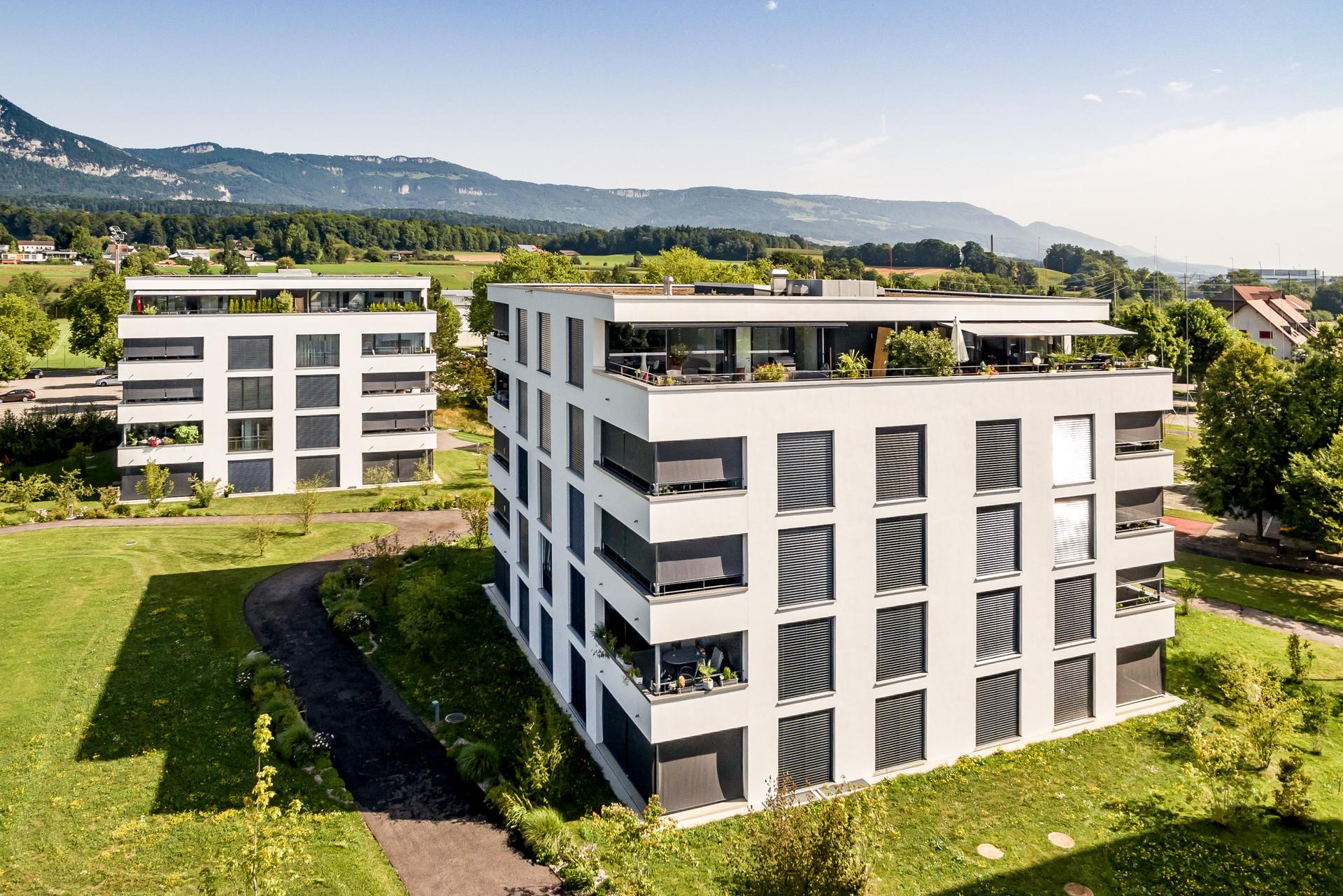 Architekturfotografie; Luftaufnahmen; Drohnenbilder