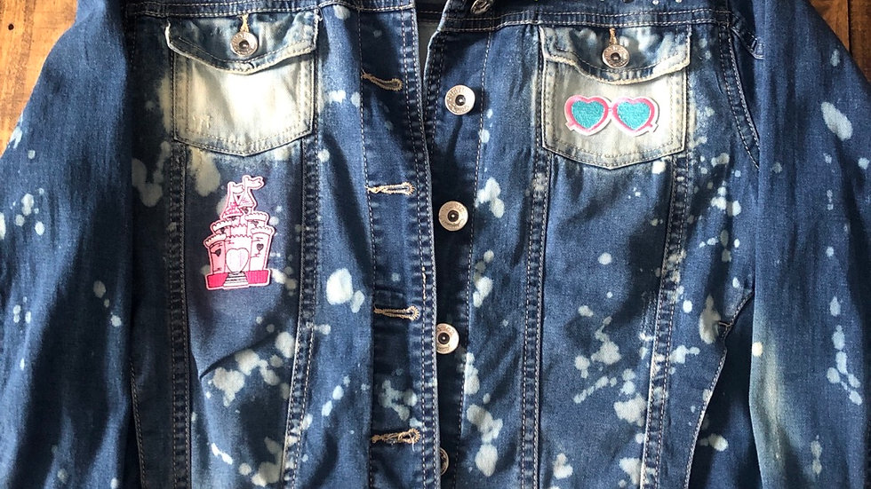 The Racing Life-Youth 18/XL jean jacket