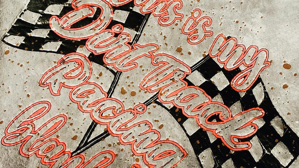 Dirt Track Racing Blanket
