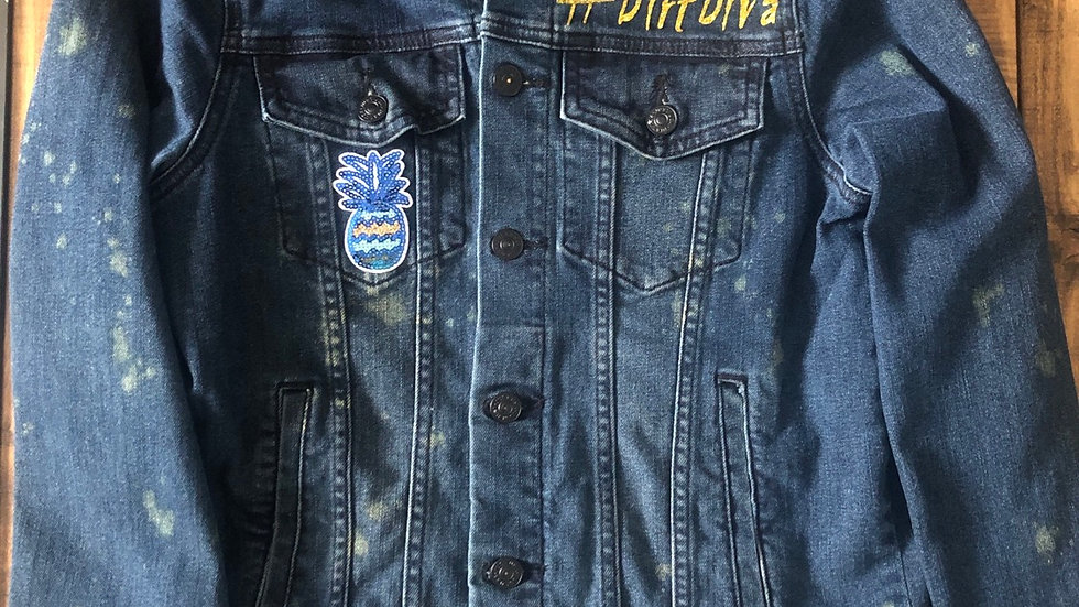 Dirt Diva- denim jacket M