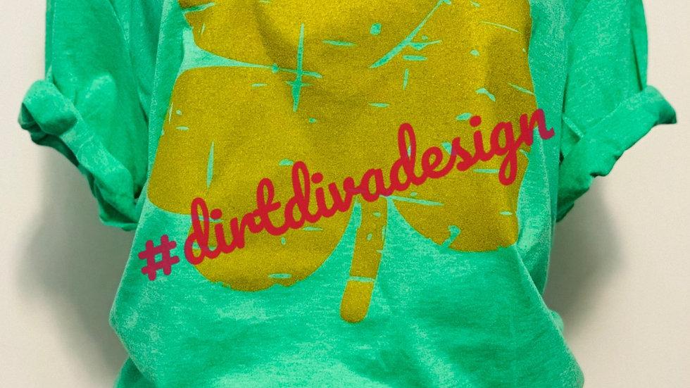 Saint Patrick's day clover t-shirt