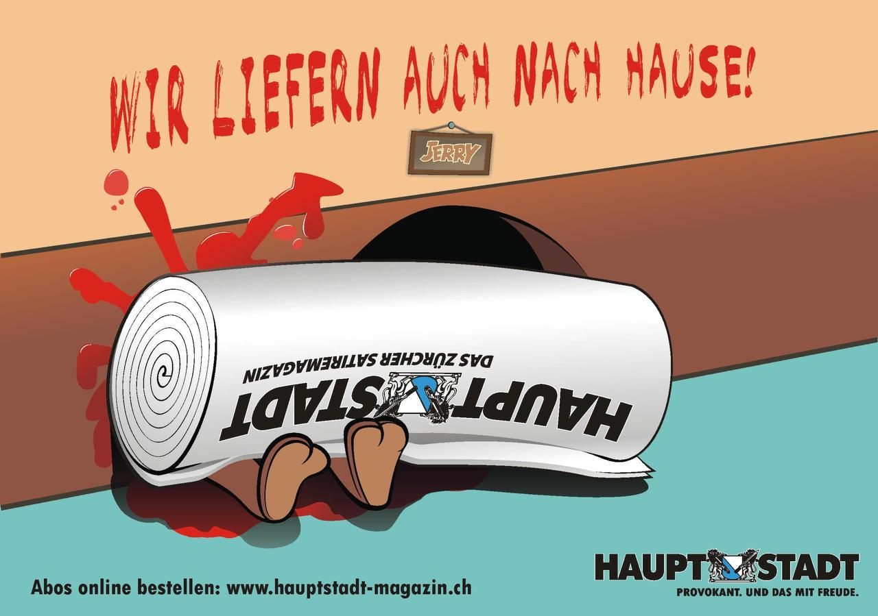 HAUPTSTADT Magazin Illustration