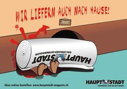 HAUPTSTADT Magazin Illustration