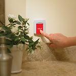 emergency button wall unit