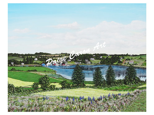 """""""Hostetter's Viewscape"""", French River, Digital Reproduction Prints"""