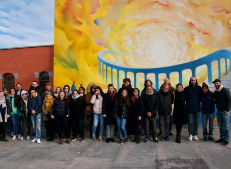Inauguration de la fresque