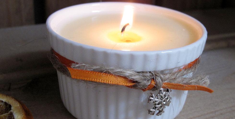 Cinnamon & Orange Ramekin Candle