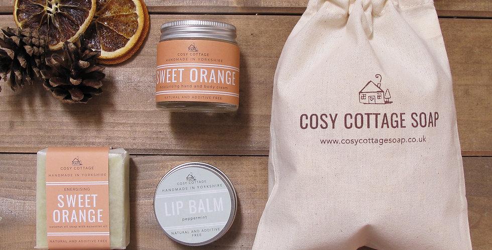 Vegan Orange Gift Bag
