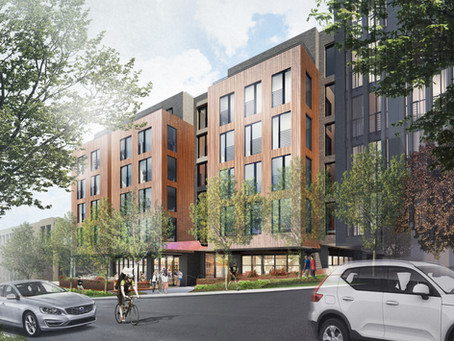 95-unit apartment building breaks ground in Uptown