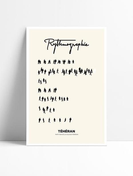 Jayrane Fotouhi-Rythmographie-affiche Té