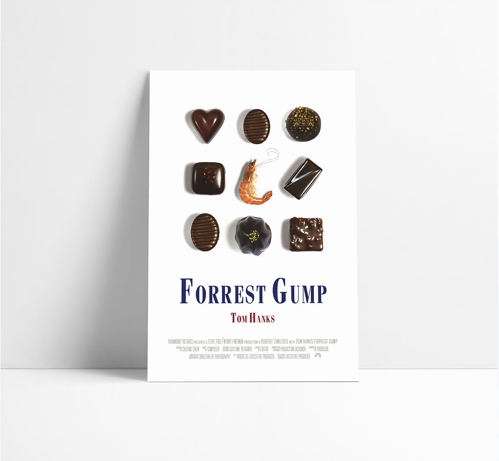 Jayrane Fotouhi-Forrest Gump-Affiche.jpg
