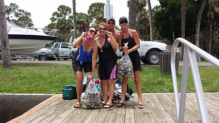 Saltyds scalloping Charters