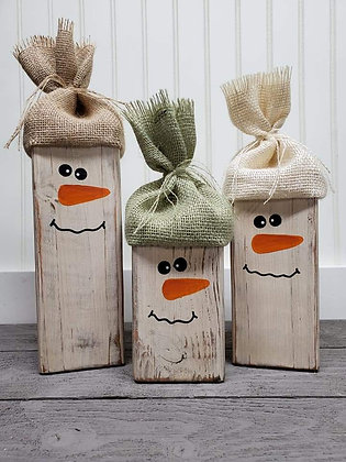 Snowmen (set of 3)