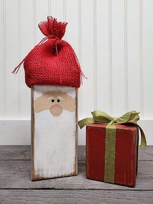 Santa & present duo (set of 2)