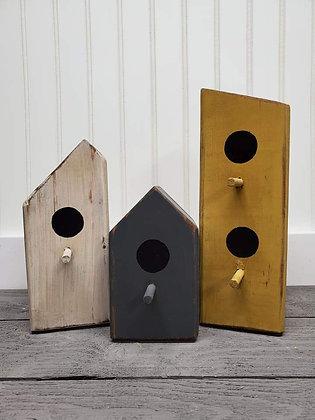 Birdhouses (set of 3)