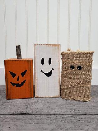 Halloween trio (set of 3)